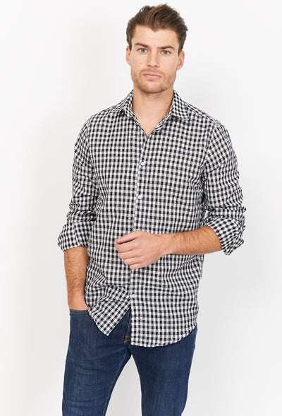 Benjamin White Organic Button Up