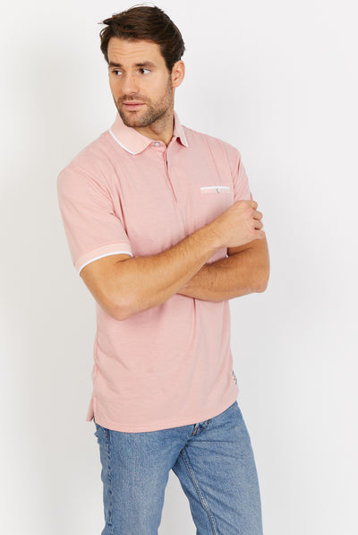 Light Pink Polo Shirt