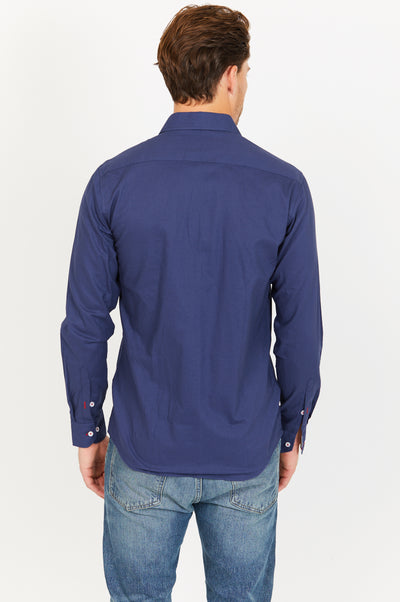 Jeremiah Royal Blue Long Sleeve Button Up Shirt