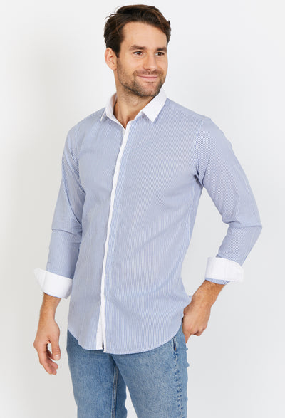 Brayden Long Sleeve Button Up Shirt