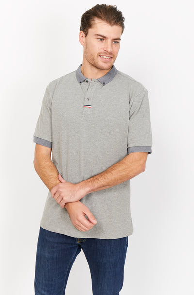 Jordan Gray Organic Polo Shirt