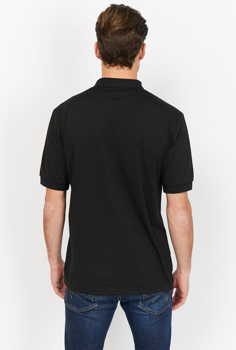 Manuel Black Organic Polo Shirt