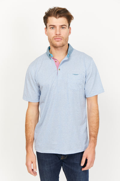 Salvatore Dark Gray Organic Polo Shirt
