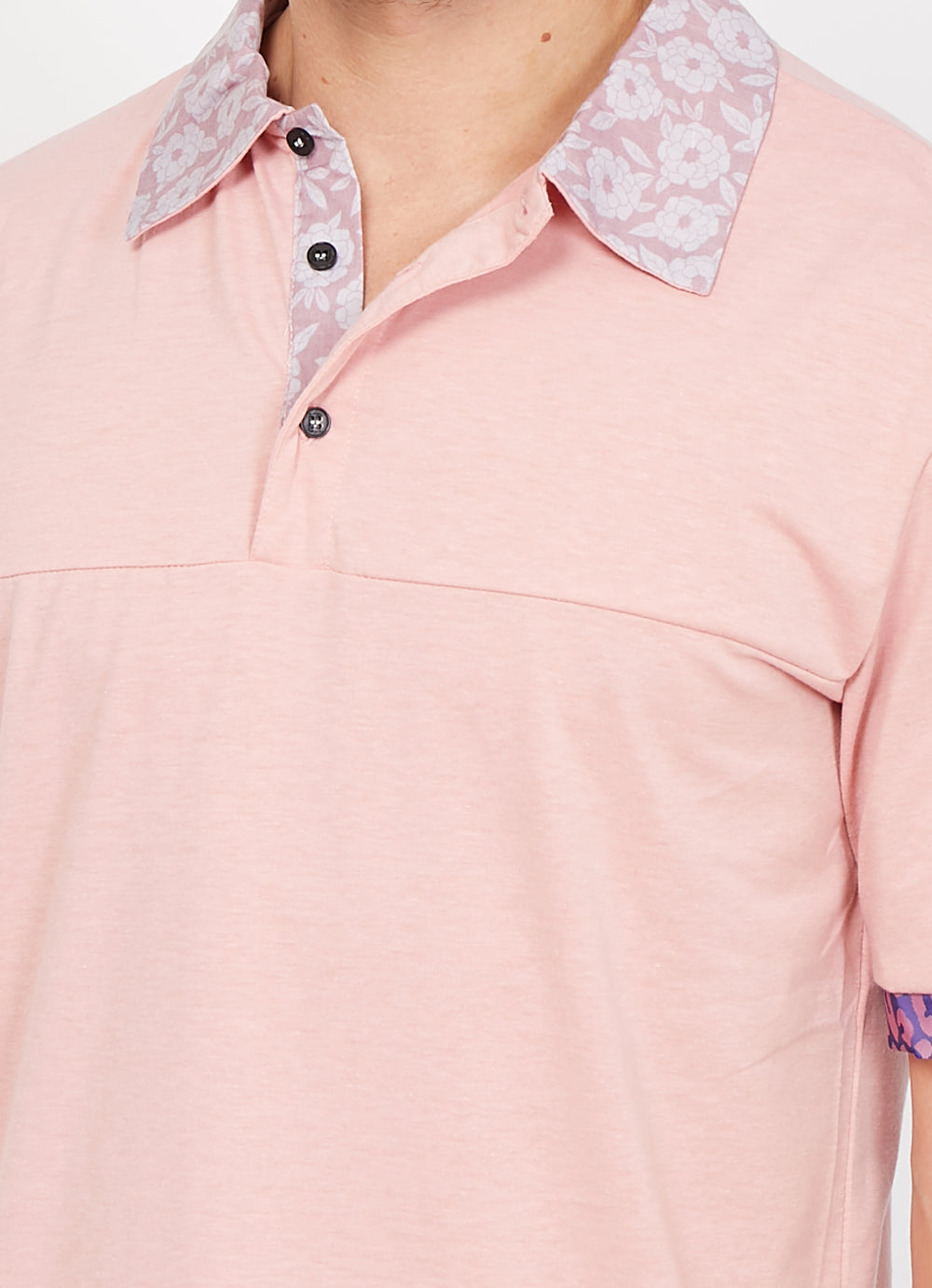Smith Lilac Organic Polo Shirt