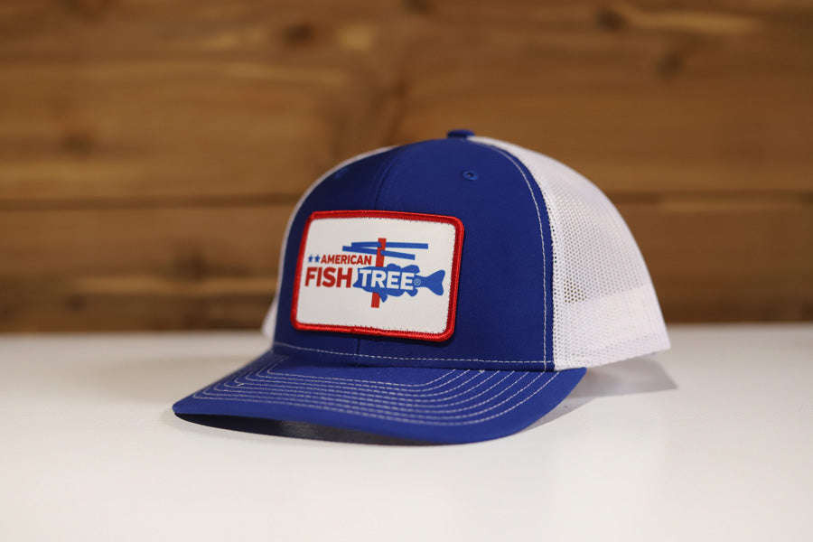 American Fish Tree Hat - Richardson 112 - AmericanFishTree