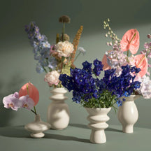Make a Floral Showpiece With Designer Vases and Planters