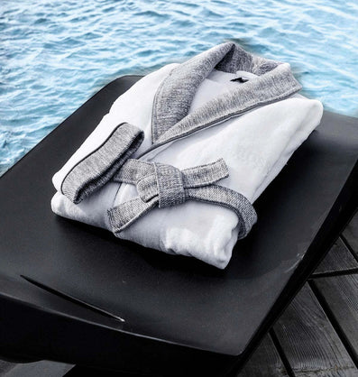 Luxury Comfort in the Bathroom with Designer Towels and Robes