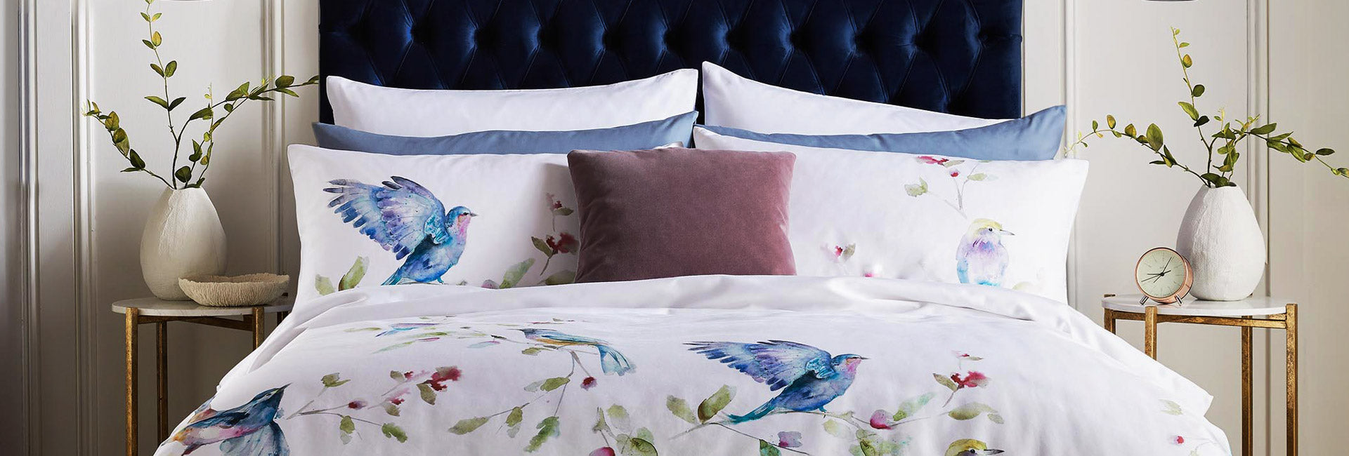 Brand new Voyage Maison bedding at Dotmaison