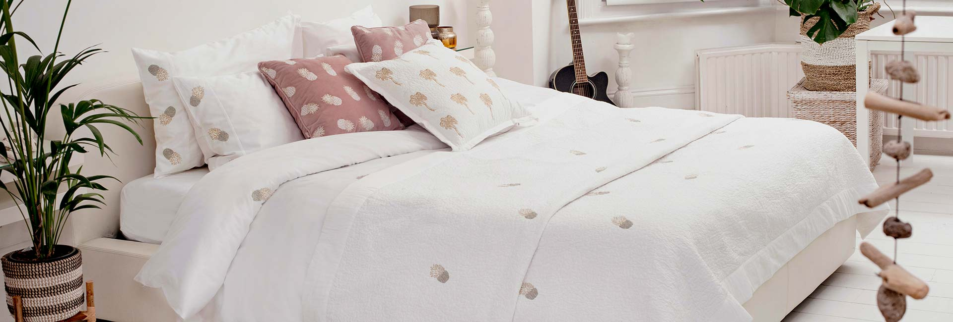 Luxury Bedding for by Elizabeth Scarlett at Dotmaison
