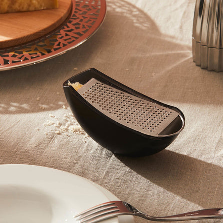 Alessi Parmenide Grater with Cheese Cellar