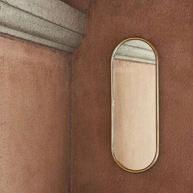 AYTM Angui Wall Mirror H78cm, Gold