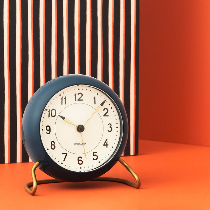 Arne Jacobsen Station Table Clock 11cm
