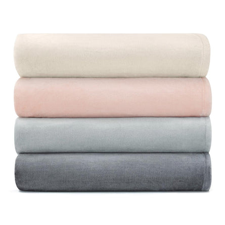 Calvin Klein Home Michael Fleece Throw, 127x178cm