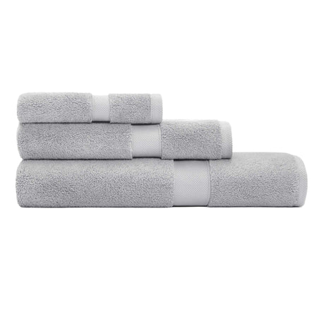 Calvin Klein Home Tracy Towels, Light Grey