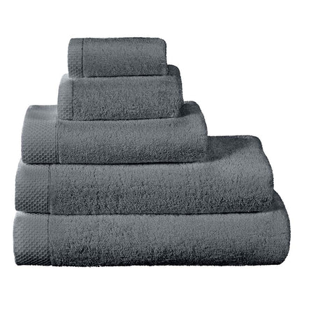 Descamps Luxury Egyptian Cotton Towels, Granit (Granite Grey)