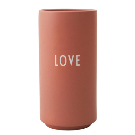 Design Letters Favourite Vase Nude, Love