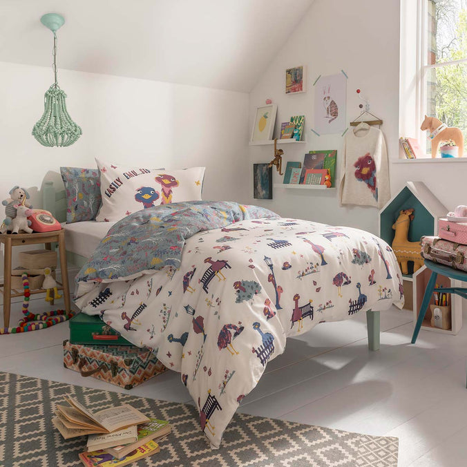 Fatface Elsie Emu Bedding Set