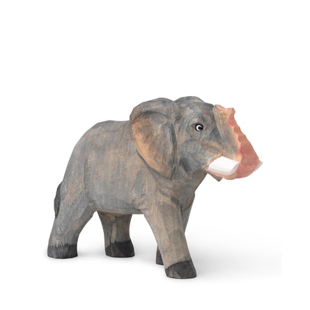 Ferm Living Hand-Carved Wooden Animal Toy, Elephant