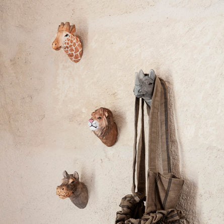 Ferm Living Animal Hand-Carved Hook