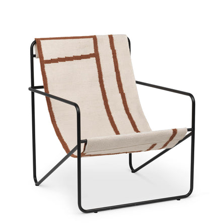Ferm Living Desert Lounge Chair, Black/Shape