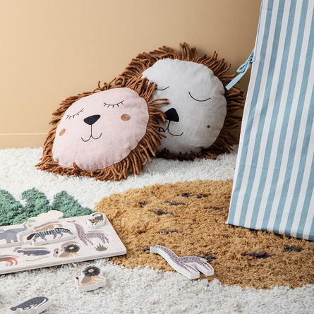 Ferm Living Safari Lion Cushion