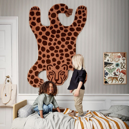 Ferm Living Safari Tufted Rug, Leopard