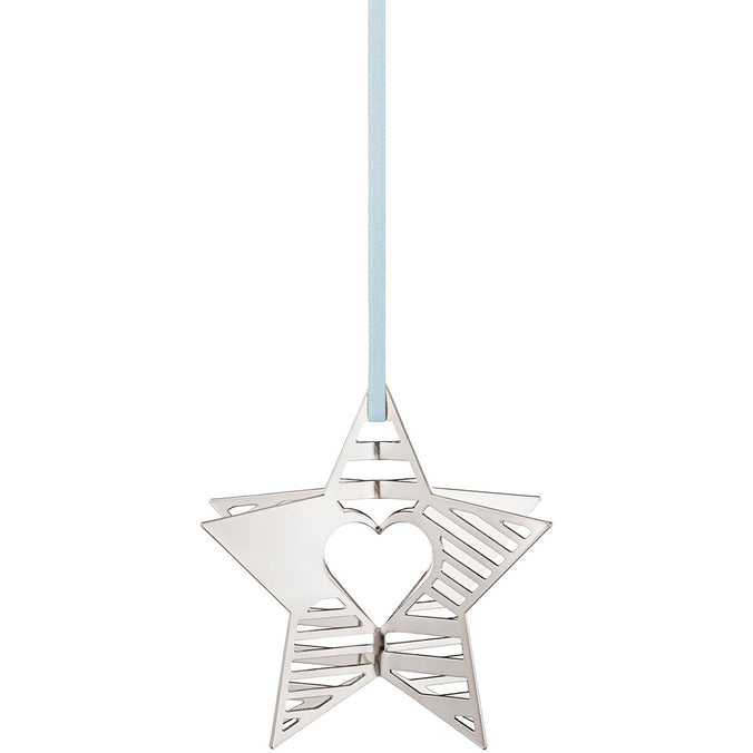 Georg Jensen 2019 Holiday Christmas Tree Ornament, Star