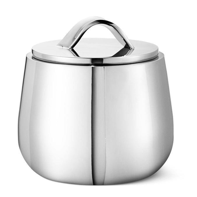 Georg Jensen Helix Sugar Bowl, Stainless Steel
