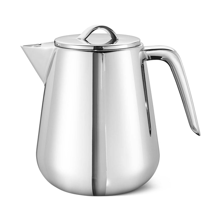 Georg Jensen Helix Tea Pot, Stainless Steel 1L