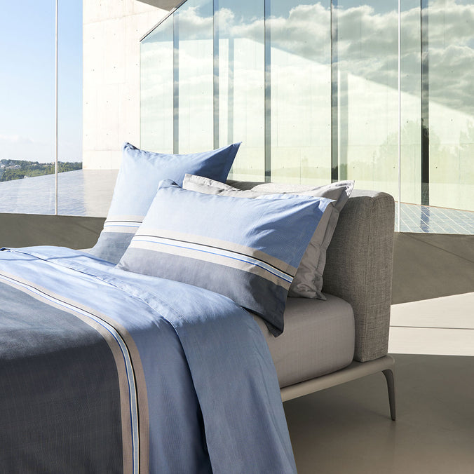 Hugo Boss Paddy Blue Bedding