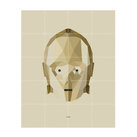 IXXI Star Wars Icons C-3PO Wall Art
