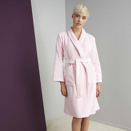 Kenzo Iconic Womens Bathrobe Rose