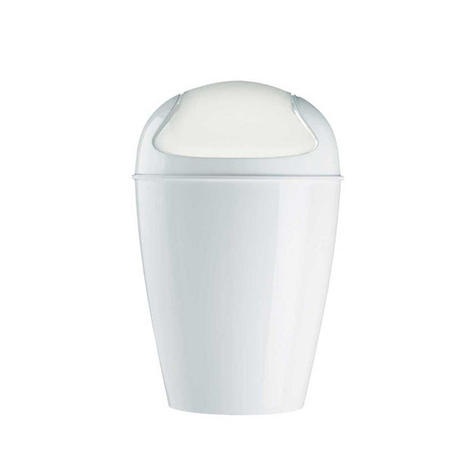 Koziol Swing Top Wastebasket Small