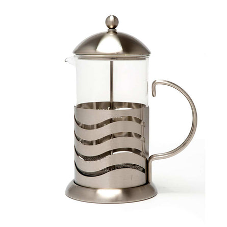 La Cafetiere Wave 8 Cup Cafetire, Chrome