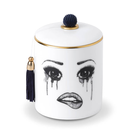 Lauren Dickinson Clarke Moody Muse Scented Candle with Hat, The Poet