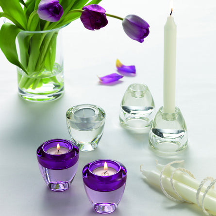 Leonardo Flick Flack Glass Tea Light & Candlestick Holder