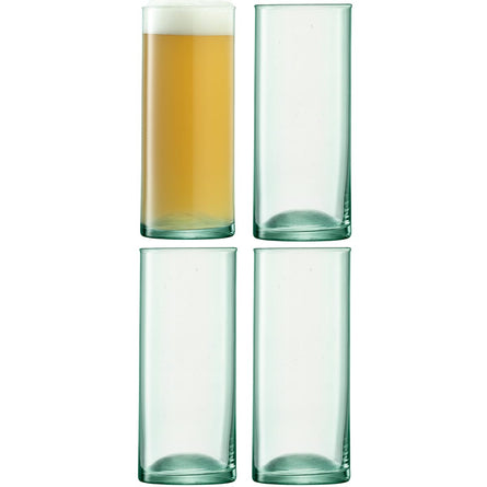 LSA Canopy Beer Glass 520ml, Set of 4