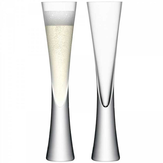 LSA Moya Champagne Flute 170ml, Set of 2