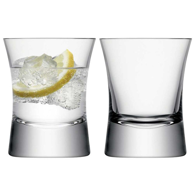 LSA Moya Tumbler 290ml Clear, Set of 2
