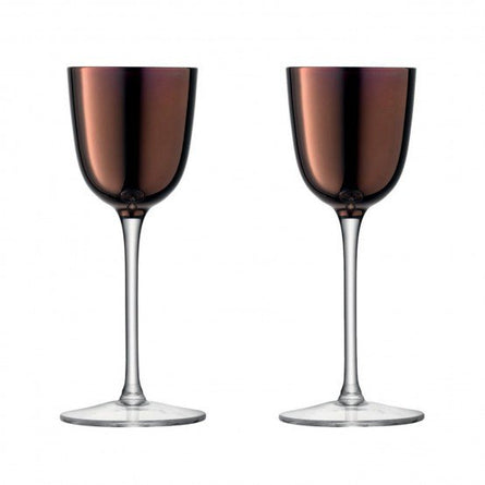 LSA Remi Liqueur Glass 80ml Copper x 2