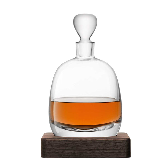 LSA Whisky Islay Decanter & Walnut Base 1L