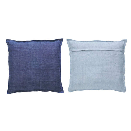 Marco Polo Two Tone Linen Cushion, 45x45cm