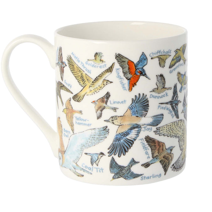 Mclaggan Smith Mugs Educational Birds Mug