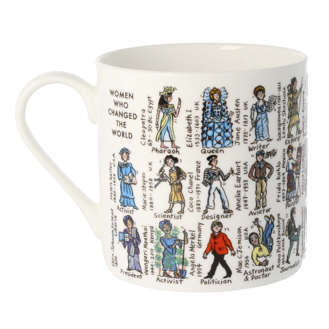 Mclaggan Smith Mugs Educational Women Who Changed The World Mug