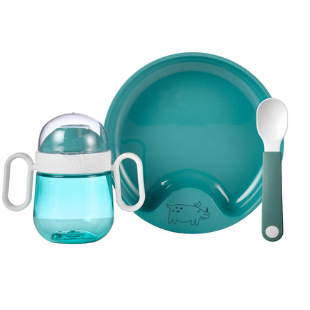 Mepal Mio Baby Dinnerware Set, 3 Pieces