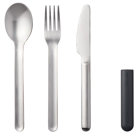 Mepal Bloom Cutlery Set 3 Pieces
