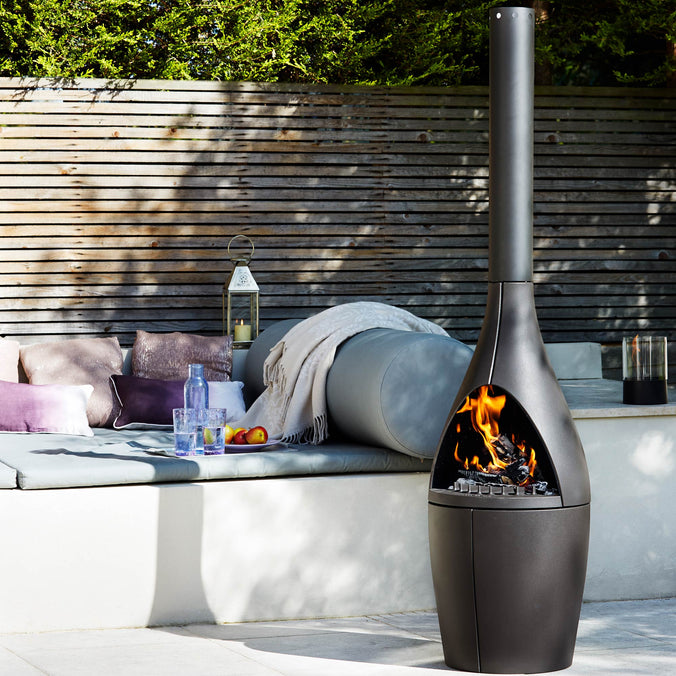 Morso Kamino Outdoor Chimnea Fireplace