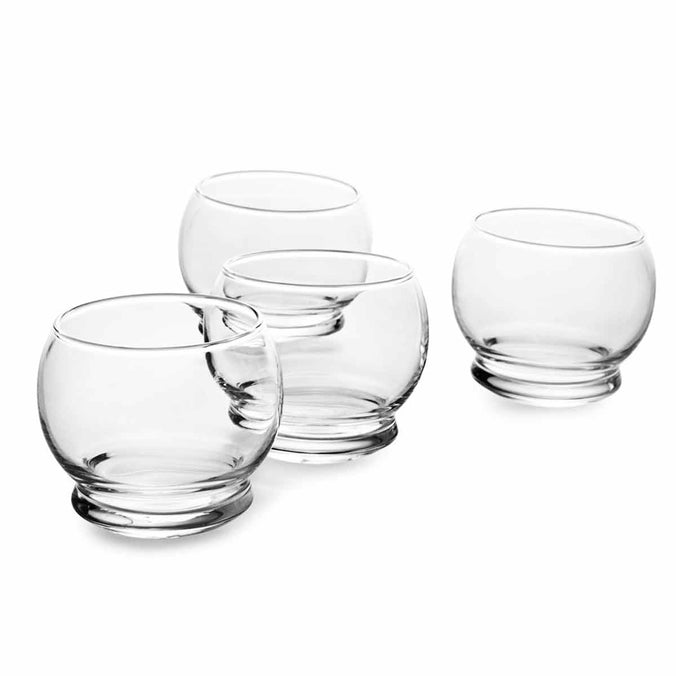 Normann Copenhagen Rocking Glasses, 4 Piece Set