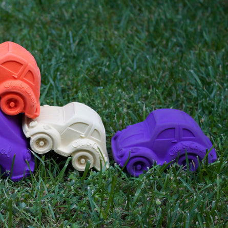 Oli & Carol Carlito Small Beetle Car Teether & Bath Toy