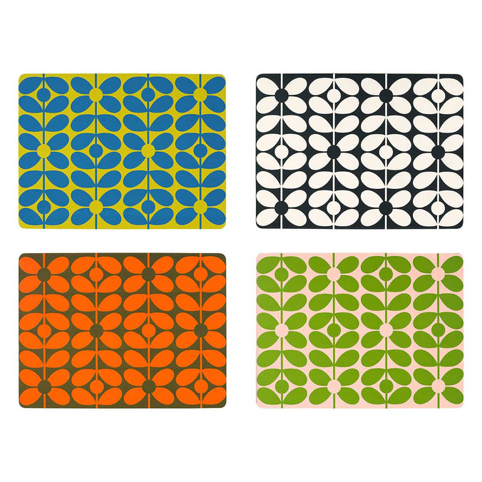 Orla Kiely 60s Stem Placemats, Set of 4